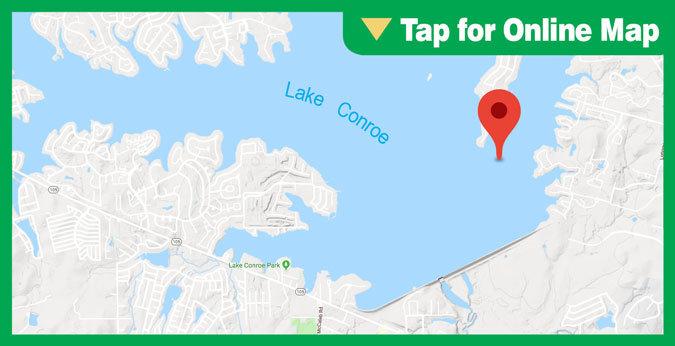 Lake Conroe HOTSPOT: Main Lake