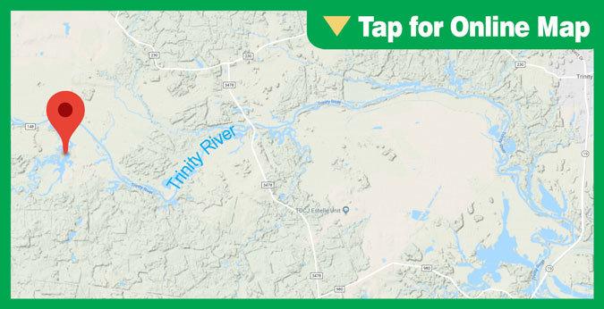 Lake Livingston HOTSPOT: Bedias Creek