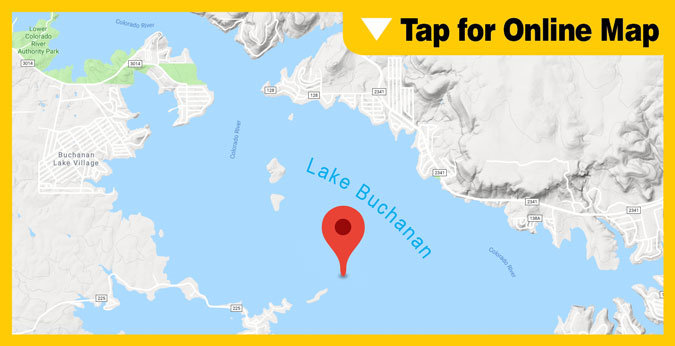 Lake Buchanan HOTSPOT: Paradise Point and Rocky Point Areas