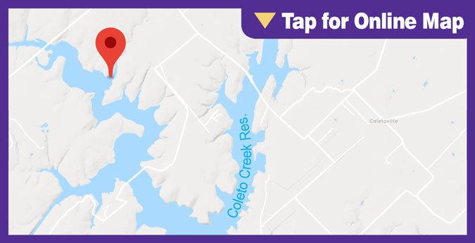 Coleto Creek Lake HOTSPOT: Main Lake