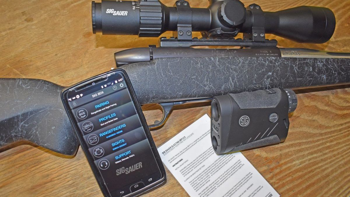SIG Optics BDX Rifle Scope and Range Finder System Review - Texas