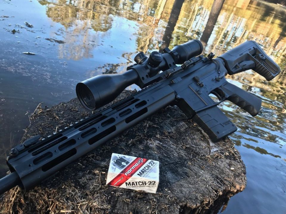 Kriss Defiance AR-15 .22LR
