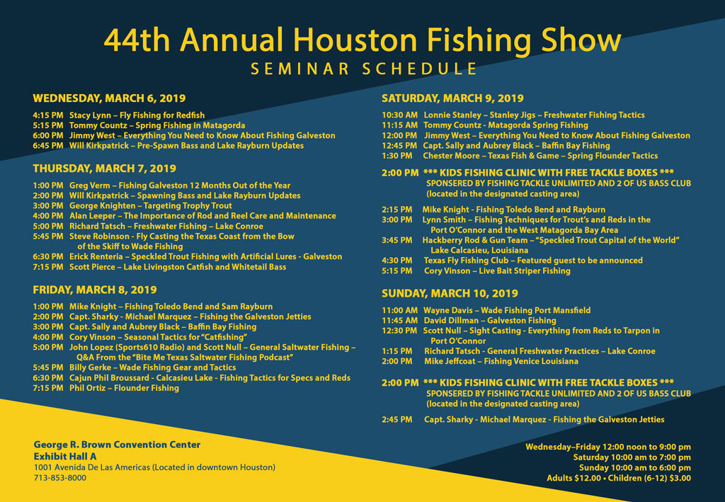 44th Annual Houston Fishing Show