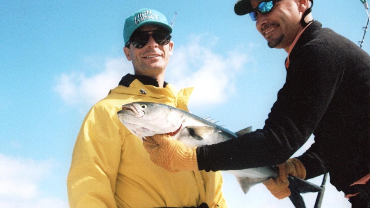 fishing for bluefish
