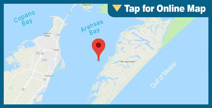 Aransas Bay: Bay Oil Wells