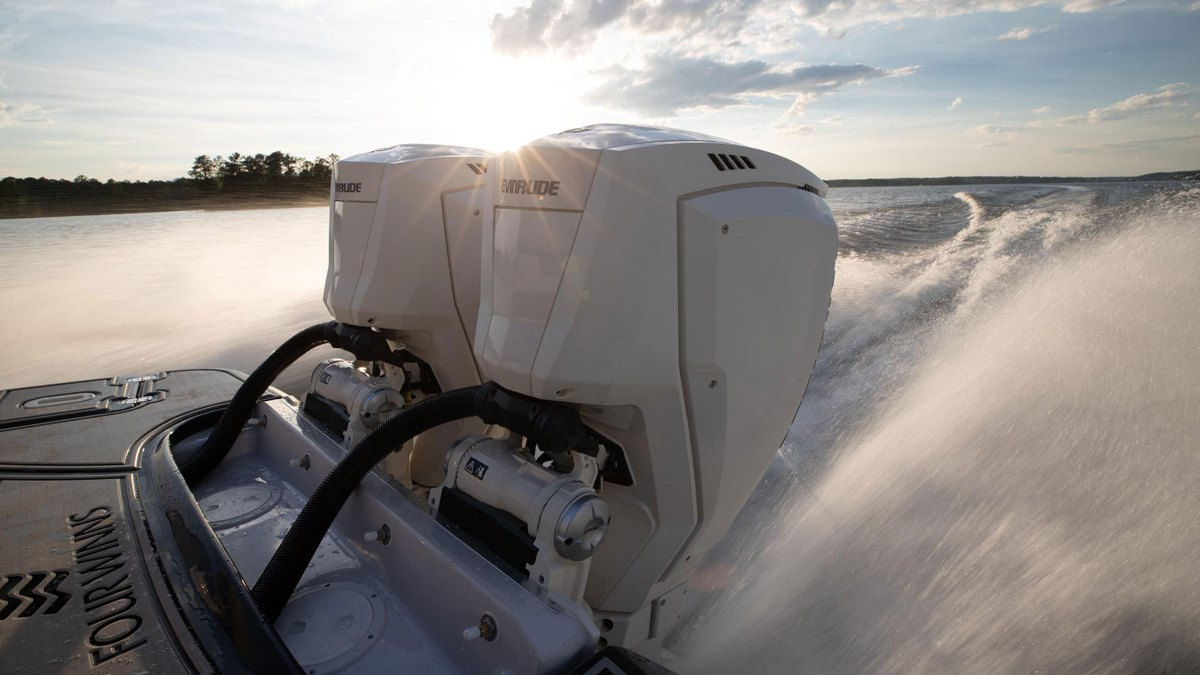 New Evinrude E-tec G2 In-line-three Outboards