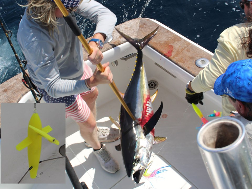 spreader bar for tuna fishing