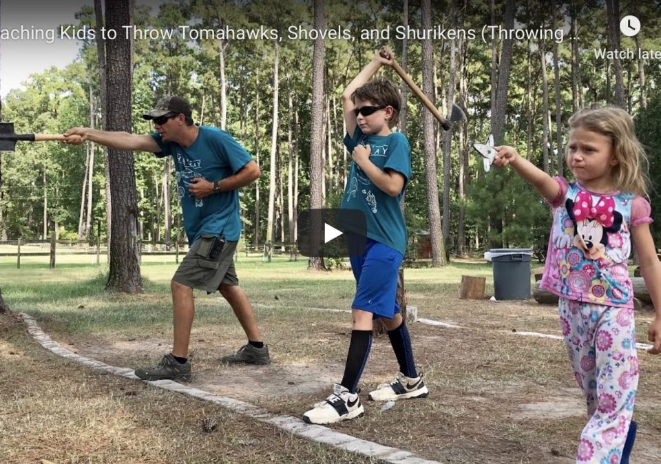 How to Throw Tomahawks