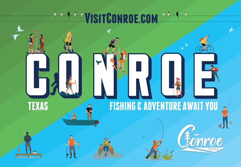 Visit Conroe Texas