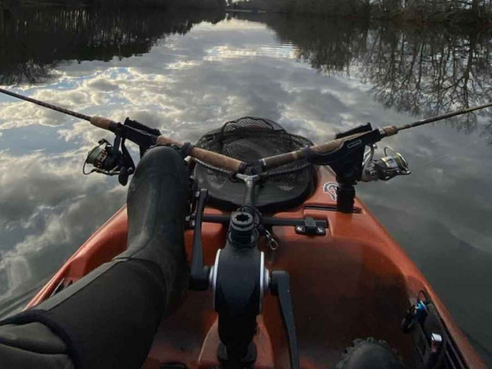 kayak fishing rod holders