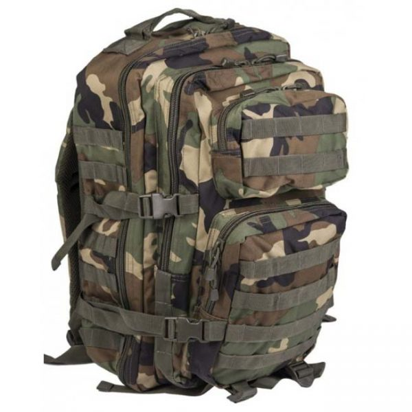 Ruksak MIL-TEC ASSAULT 30 l Woodland