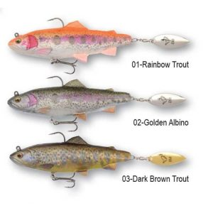 Savage Gear 4DTrout Spin Shad