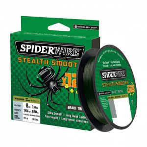 SpiderWire Stealth Smooth zelená 150m