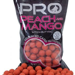 Boilies StarBaits Probio Peach&Mango 20mm 1kg