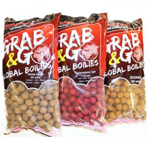 Boilies SENSAS StarBaits Grab&Go 20mm 2.5kg