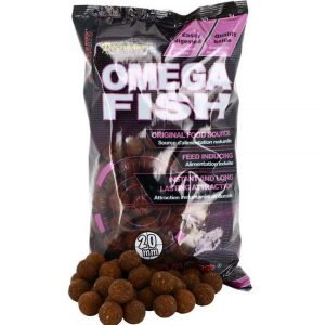 Boilies SENSAS StarBaits Omega Fish 1kg 20mm 1