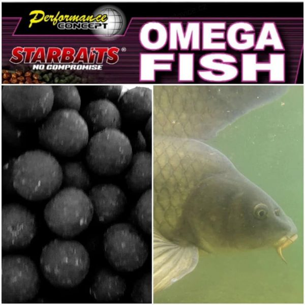 Boilies SENSAS StarBaits Omega Fish 1kg 20mm 2