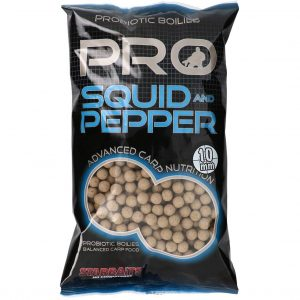 Boilies SENSAS StarBaits PRO Squid-Pepper 20mm 1kg