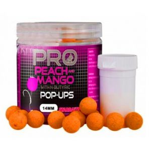 Pop Up boilies Starbaits Probiotic Peach&Mango 14mm 60g