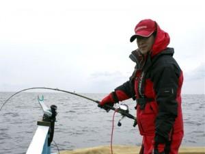 光洋丸マス釣り