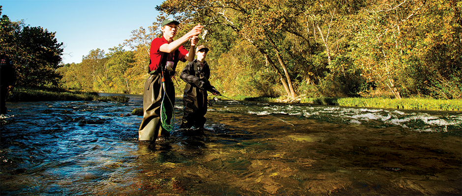Where to find fish in a river or stream fishing by boys for Where to buy fish