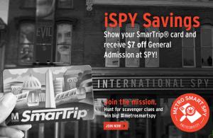 International spy museum discount coupons