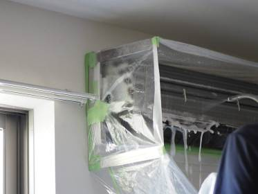 おそうじ本舗のエアコン掃除