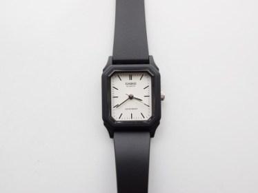 チープカシオの腕時計をレビュー