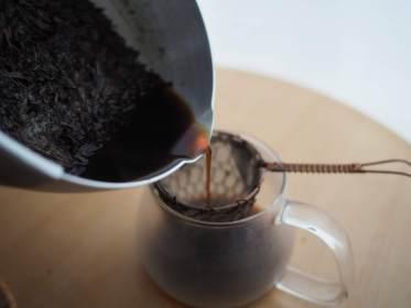 ほうじ茶シロップの簡単レシピ