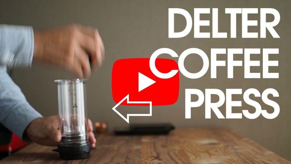 デルターコーヒープレスの使い方動画