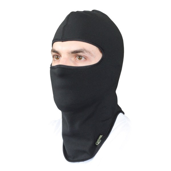 Balaclava Hunting Black Fleece Lined Windproof - Cg Emery