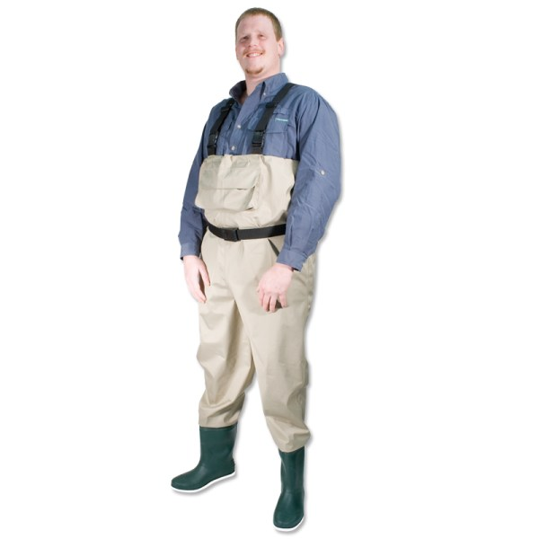 Breathable Wader Chest Fishing Pvc Boot Felt Sole - Cg