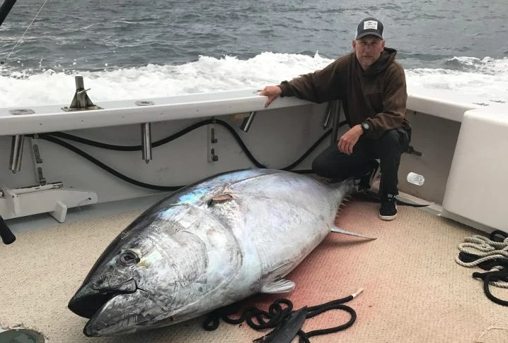 Giant Bluefin Tuna Fishing in the Outer Banks