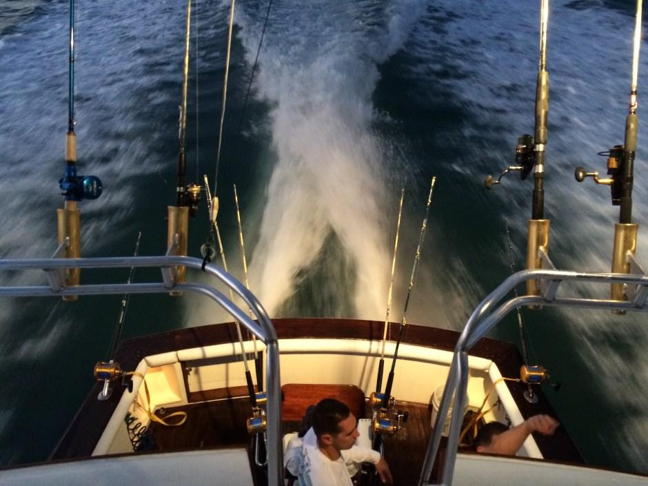 Best fishing trips: a clean boat