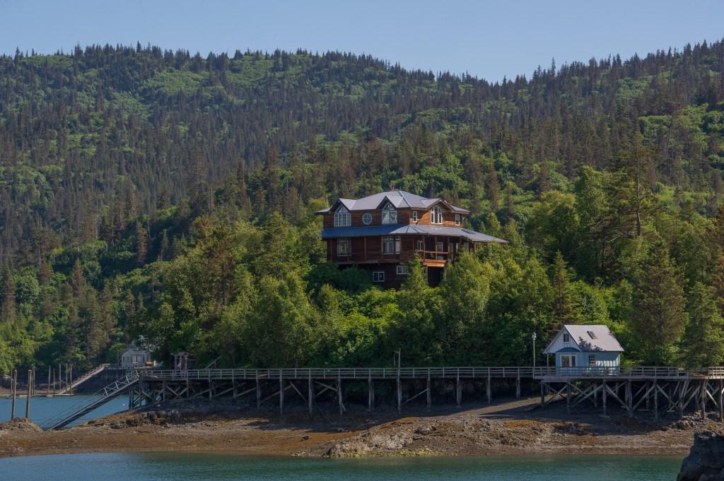 A fishing lodge in Kachemak Bay, Alaska