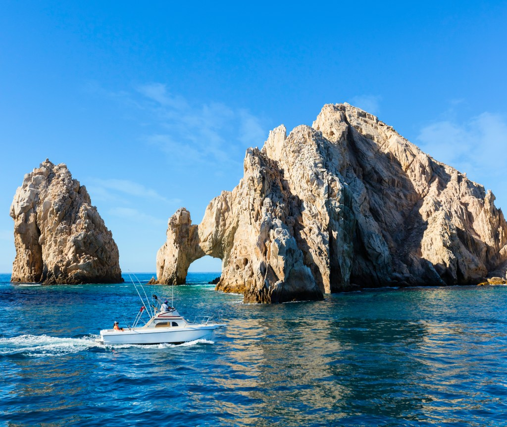 A Fishing Boat Near Cabo San Lucas