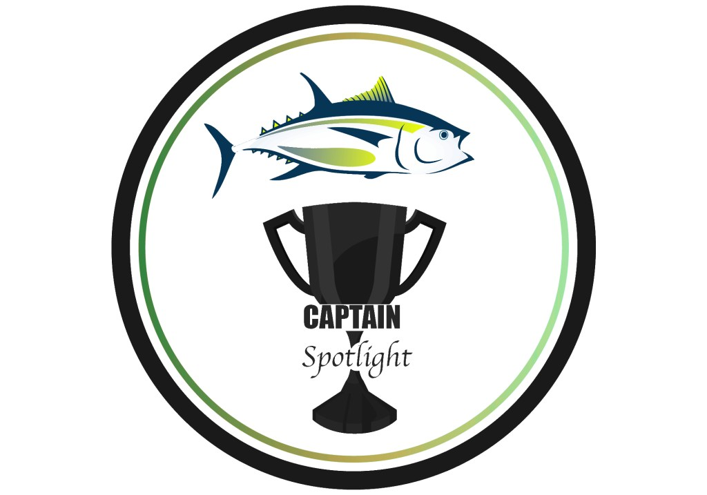Trophy cup with a tuna