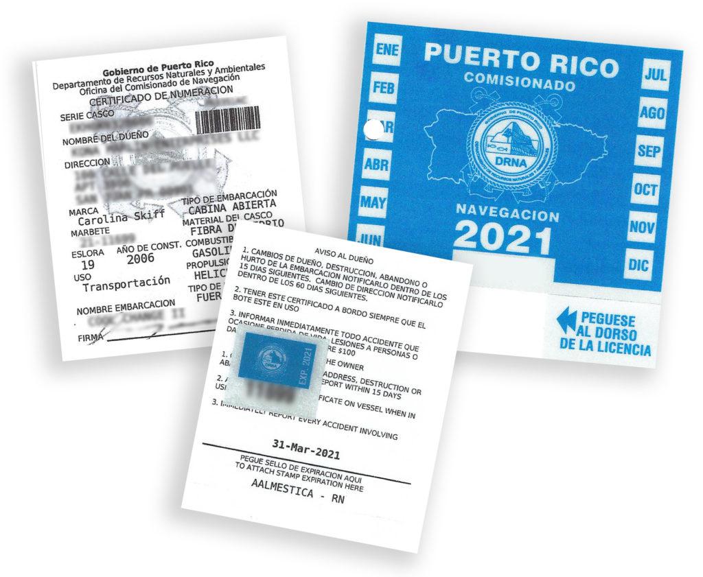 Certificado de Numeracion