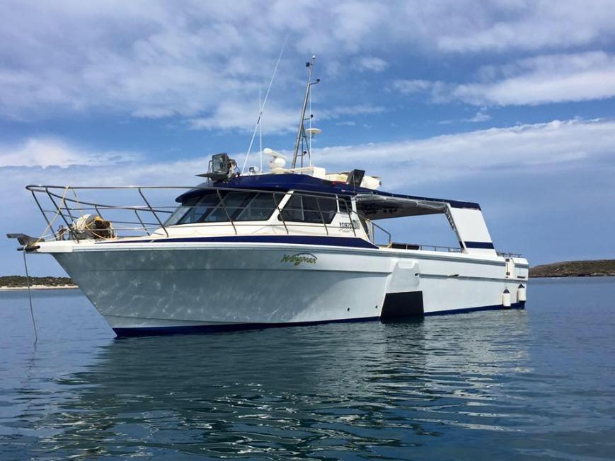 fishing charter boat in South Australia