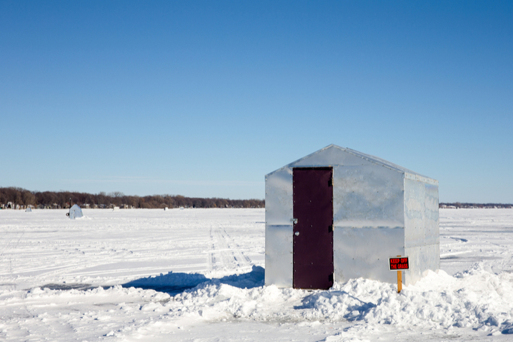 Ice Fishing Shanty