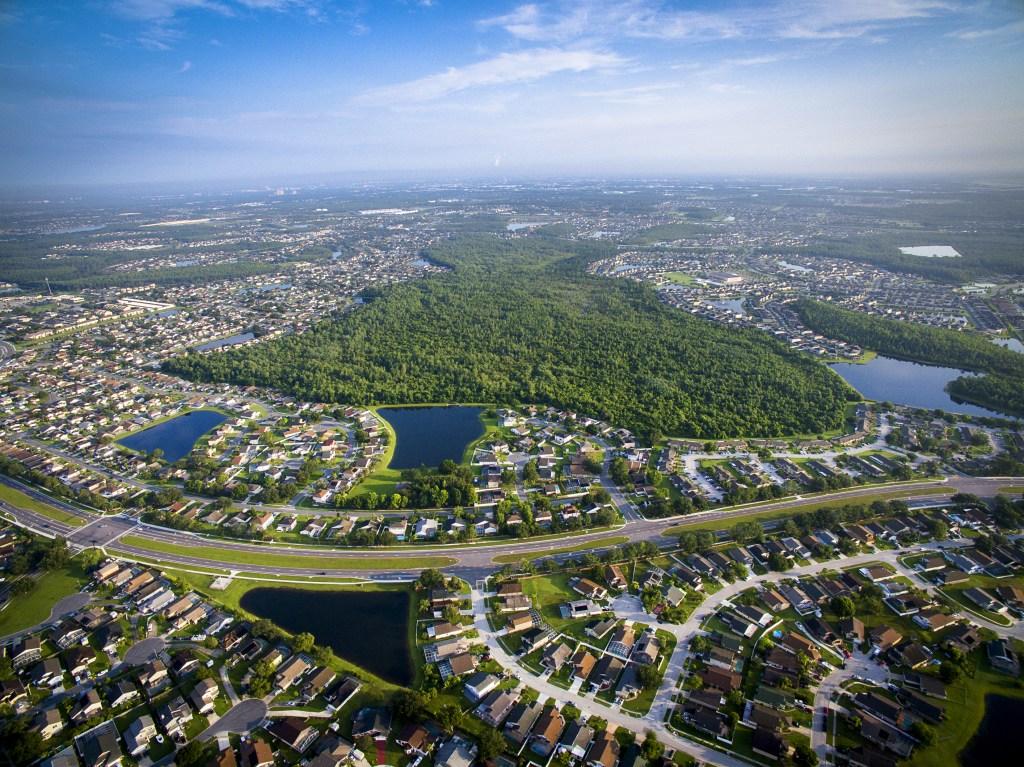 Kissimmee Lake Chain near Orlando, Florida