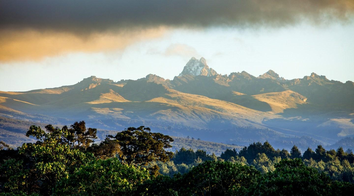 Panorama of Mount Kenya