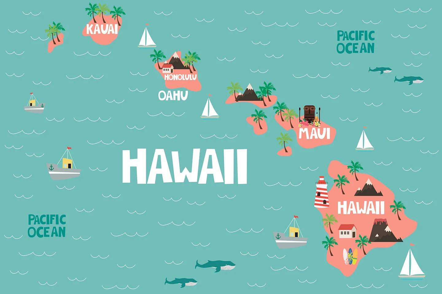 Which Hawaiian Island is the Best for You? on map of the grand canyon, map of arizona, map of michigan, map of philippines, map of hawaiian islands, map of americas, map of cleveland, map of north carolina, map of usa, map of illinois, map of waikiki, map of mexico, map of pearl harbor, map of italy, map of oahu, map of guam, map of florida, map of massachusetts, map of the panama canal, map of maine, map of texas, map of molokai, map of new jersey, map of maui, map of virginia, map of alaska, map of china, map of bahamas, map of kauai, map of canada, google maps hawaii, map of mauna loa, map of ohio, map of united states, map of georgia, map of delaware, map of new york, map of big island, map of california,