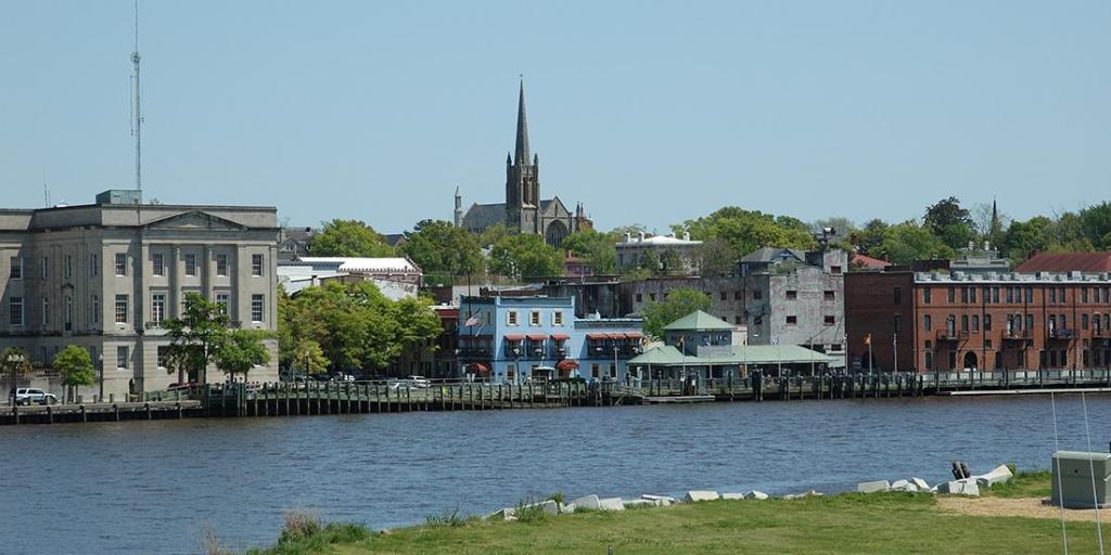 a skylike of Wilmington, North Carolina
