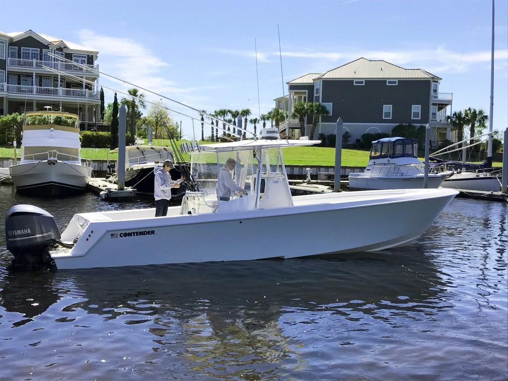 a fishing boat near Myrtle Beach