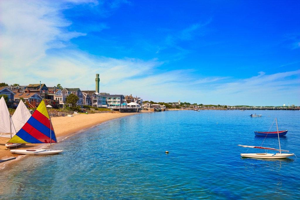 the beach at Provincetown, Cape Cod