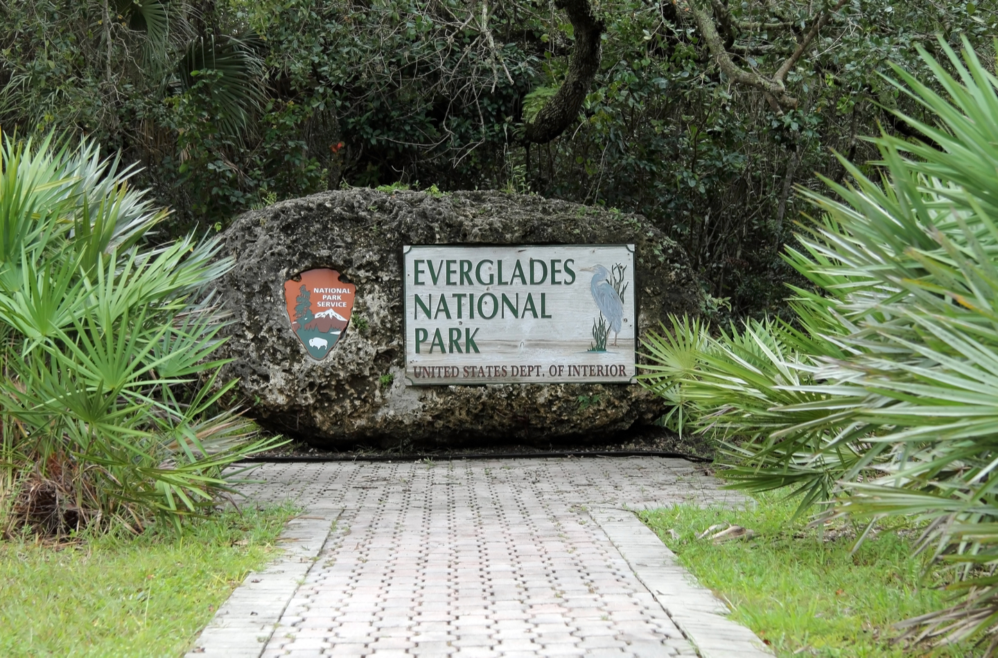 everglades national park entrance near homestead