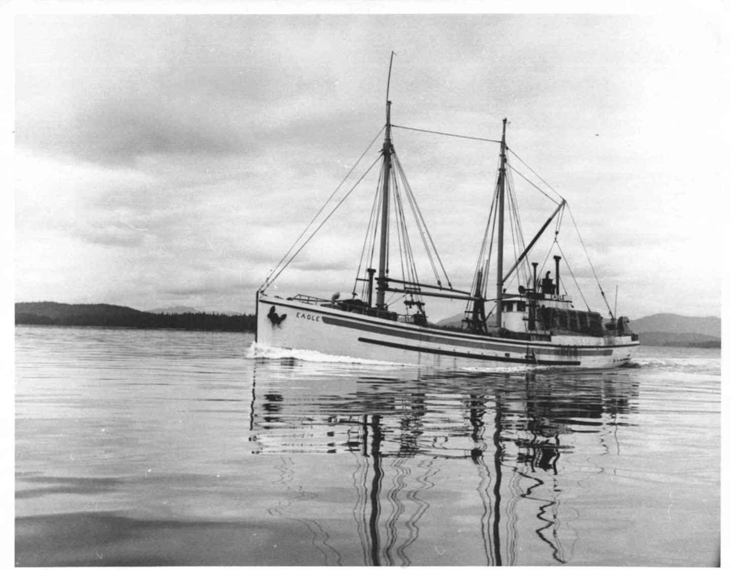 a fishing schooner