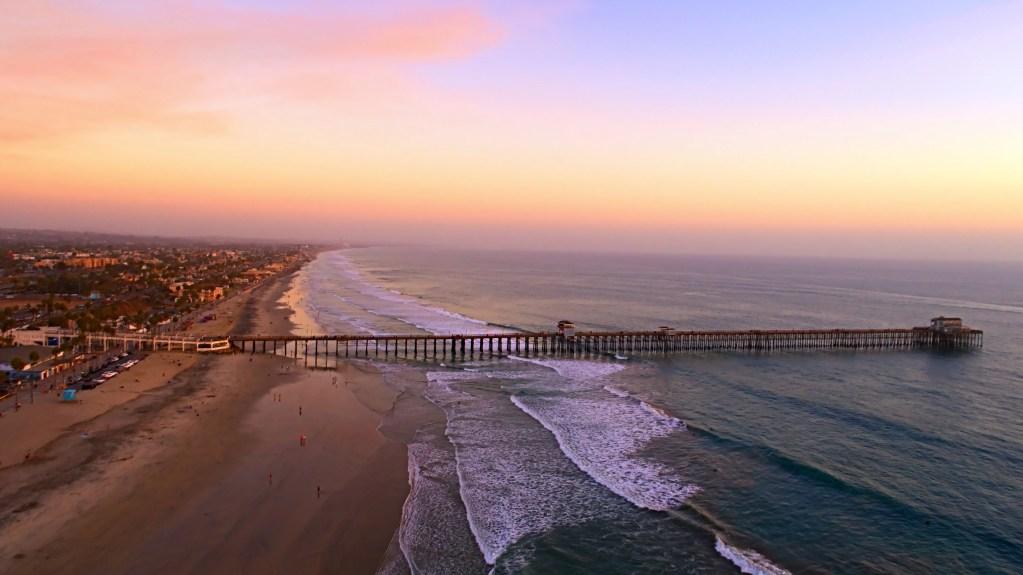 oceanside pier, san diego
