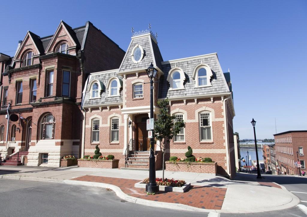 typical Saint John, NB house